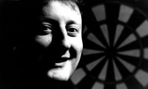 Darts player Eric Bristow