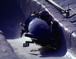 Bobsleigh at Albertville Winter Olympics 1992