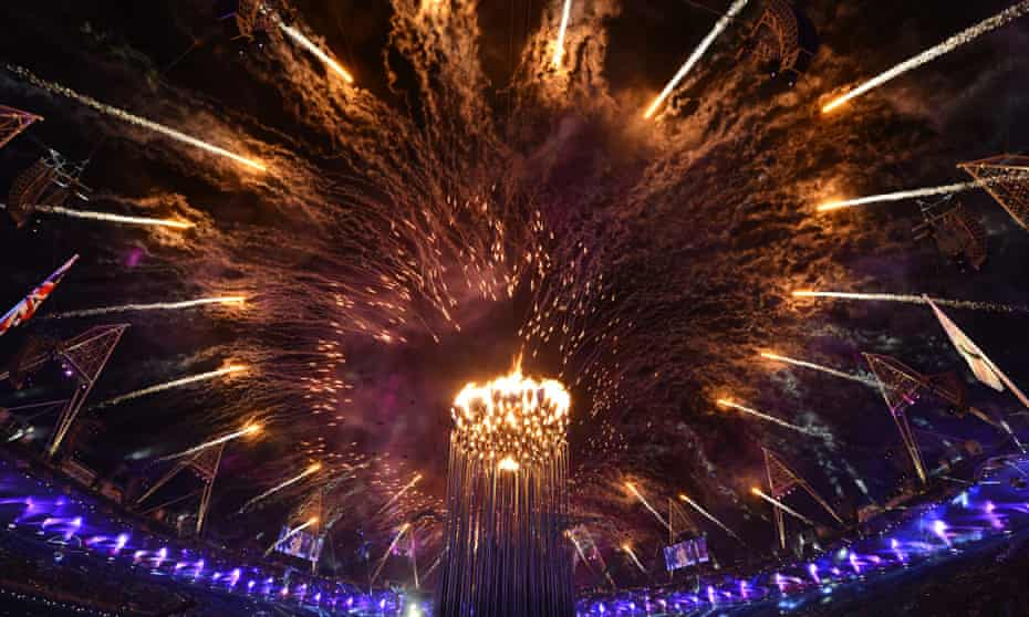 Opening ceremony of the London 2012 Paralympic Games