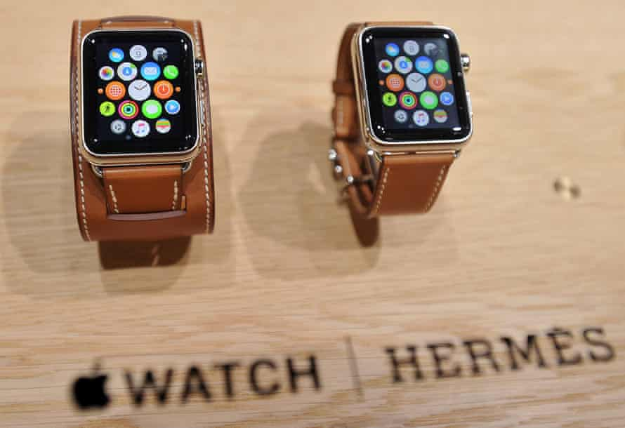 The Apple Watch Hermes is unveiled.