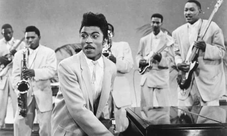 Little Richard … an unfettered yell of joy.
