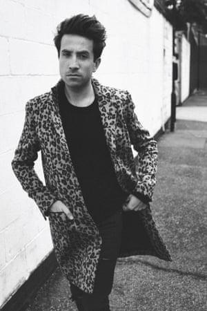 Nick Grimshaw models Topman collection