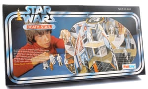 A cardboard Death Star model, which sold for £5,760 in June 2015