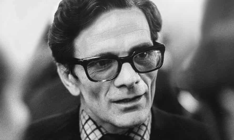 PIER PAOLO PASOLINIWRITER, DIRECTOR & ACTOR01/05/1971.