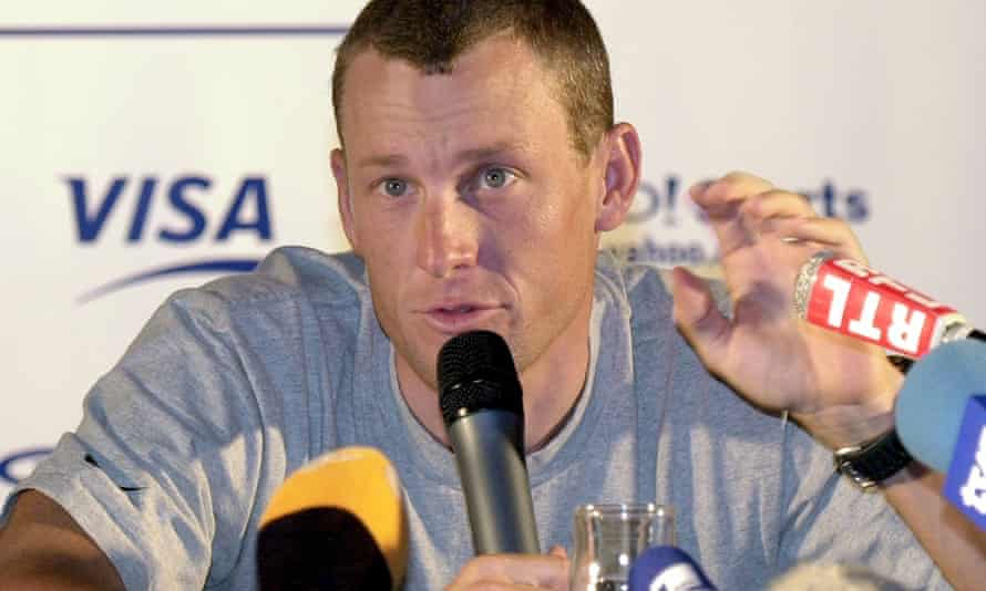 Lance Armstrong in 2003/