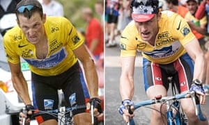 Lance Armstrong in the Tour de France 2003, and Ben Foster in The Program.