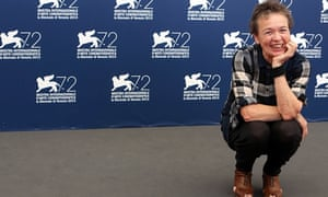 Laurie Anderson attends a photocall for The Heart if a Dog in Venice.