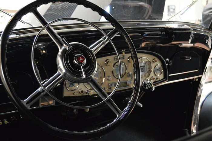 Hitler's car exerts grim fascination even if it just gave