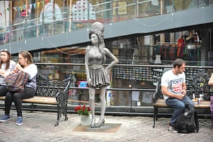 Amy Winehouse, Stables Market, Camden, London, England