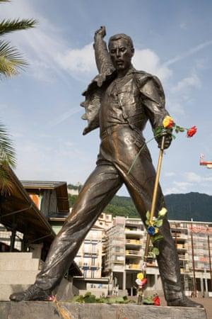 Freddie Mercury, Montreux, Switzerland