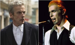 Doctor Who's Peter Capaldi and David Bowie (in his Thin White Duke period): a great double act?