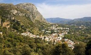 Spili, western Crete