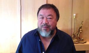 Ai Weiwei webchat