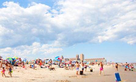 Asbury Park beach.