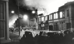Toxteth, July 1981: 'Each evening, some of us would walk out into Parliament Street in balaclavas.'