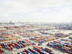 >Container terminals, Hamburg