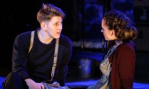 Joe Shipman and Nina Yndis in Narvik at Liverpool Playhouse.