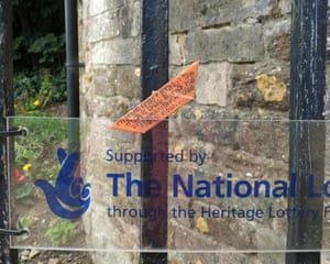 Entrance to Oakham Castle, Rutland