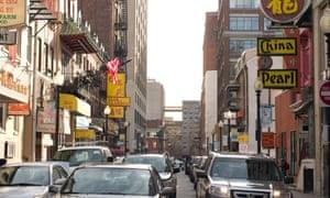 Tyler Street in Boston's Chinatown.