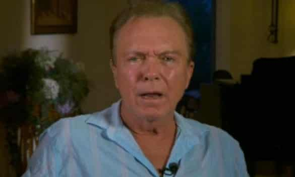 David Cassidy: asked if This Morning's Eamonn Holmes was trying to 'rubbish' him.