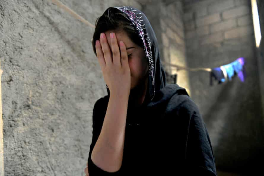 Gulan, 15, was beaten and raped in months of captivity by Isis in Iraq.