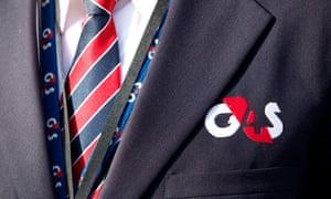G4S security guard uniform