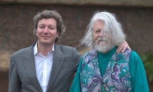 Awkward relationship … Lord Bath and his son Viscount Weymouth.