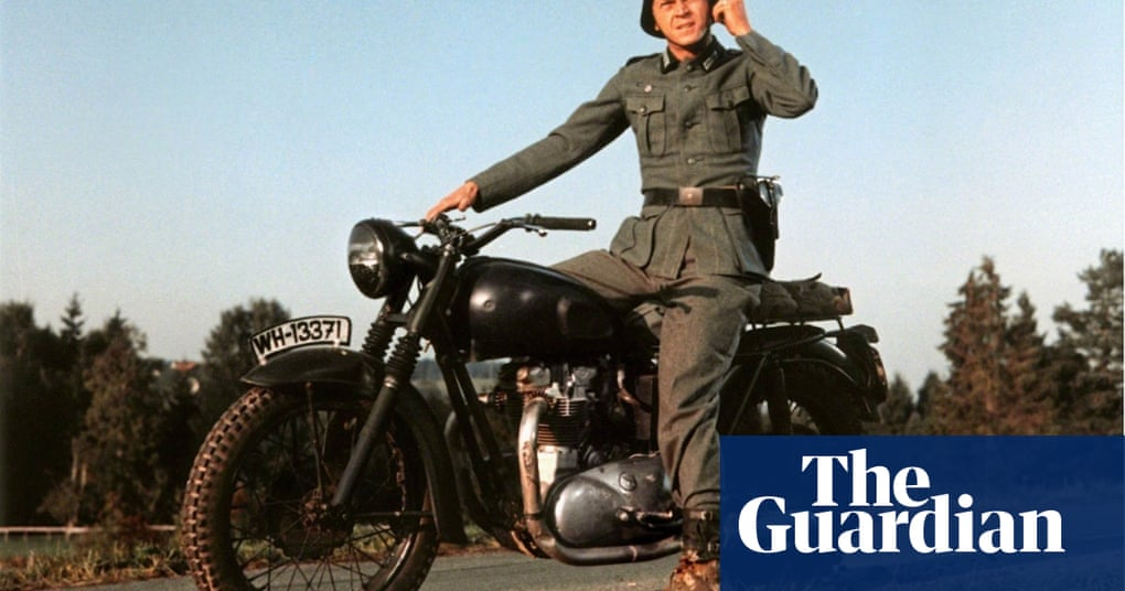Triumph motorcycles at the movies - in pictures | UK news