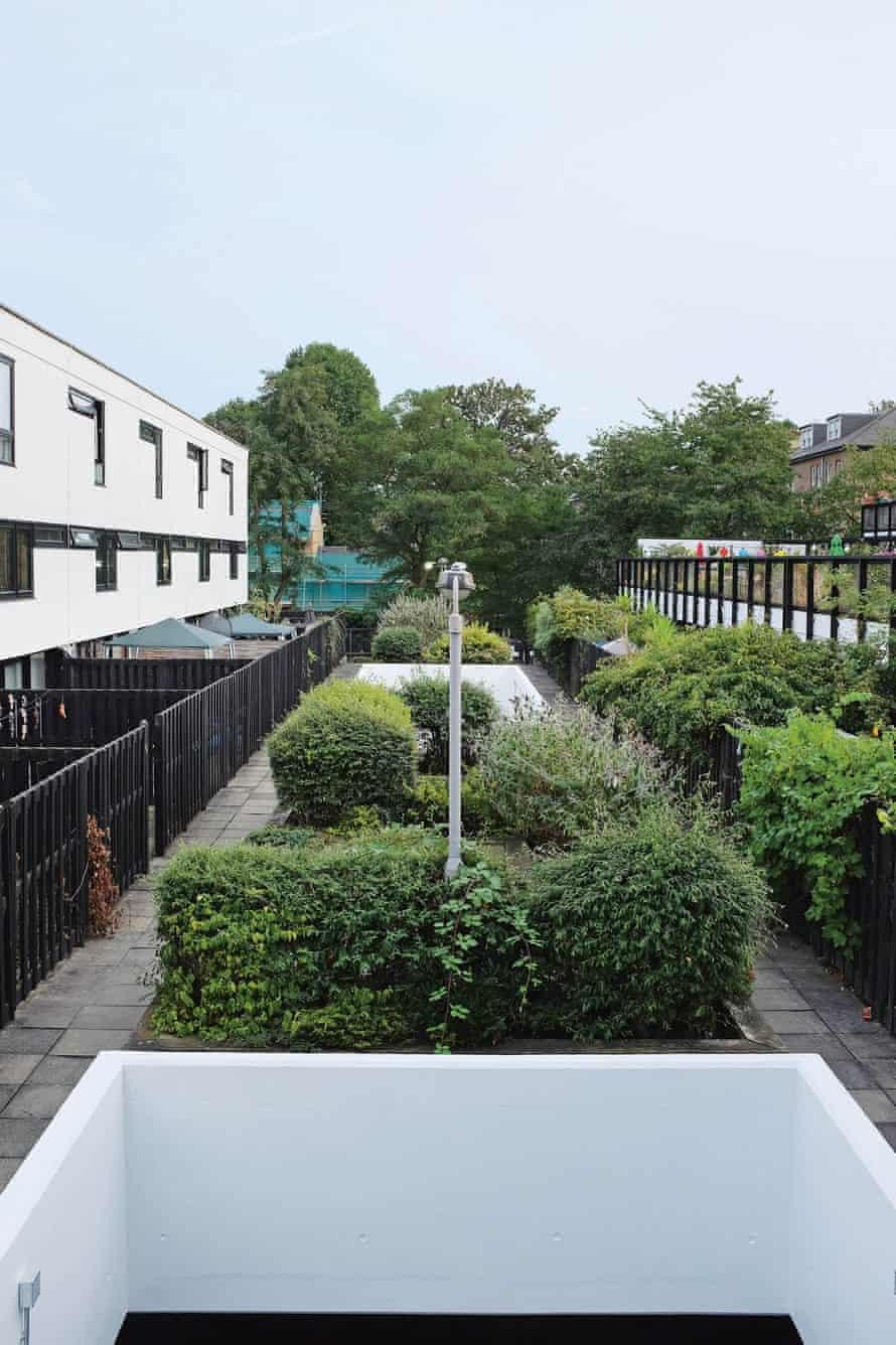The central 'alley' on Dunboyne Road estate.