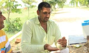 Ashok Mavee, a farmer who sold up his land in Dadri.