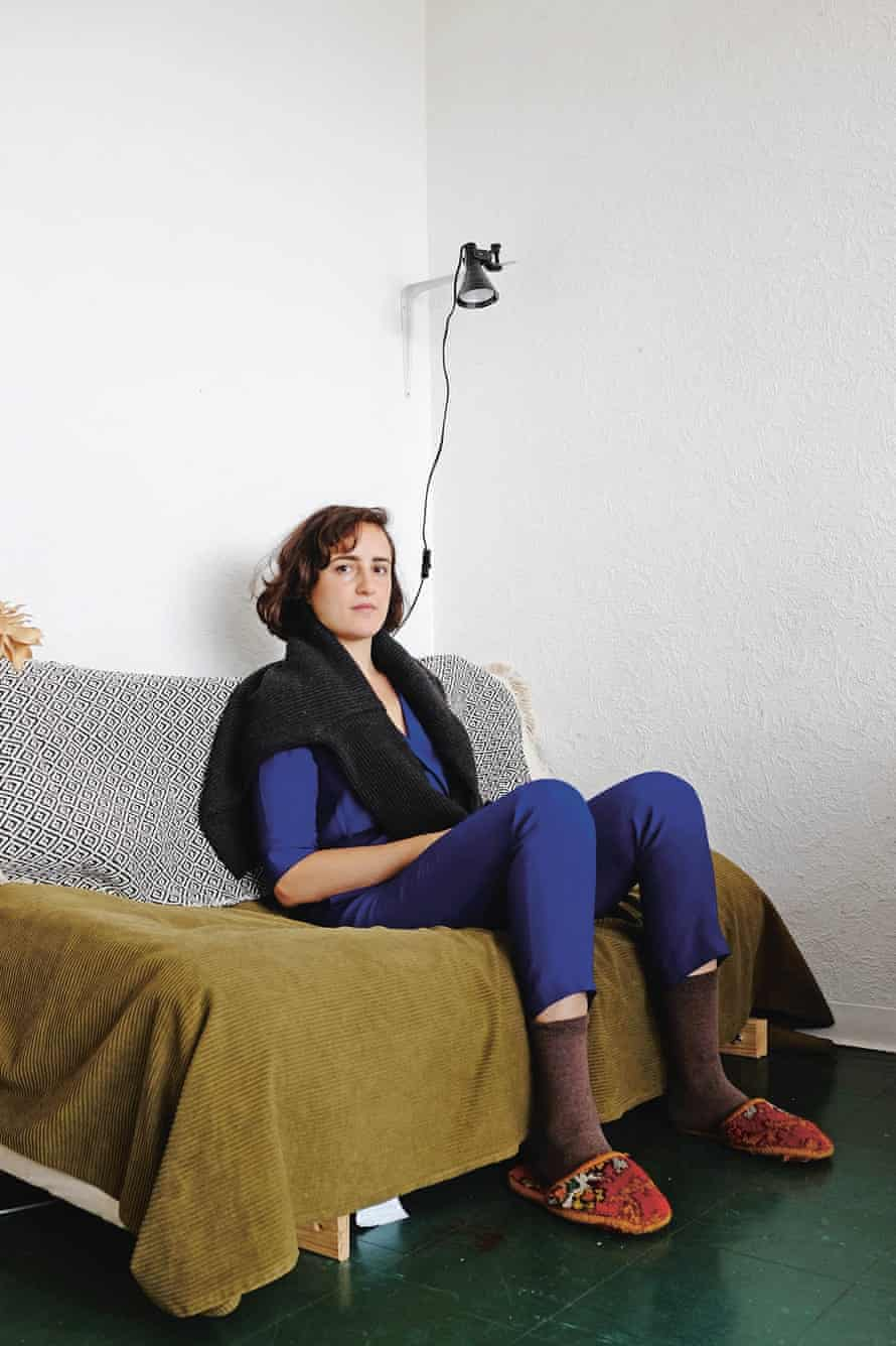Maria Lisogorskaya in her Balfron tower flat: 'I've always wanted to live high up.'
