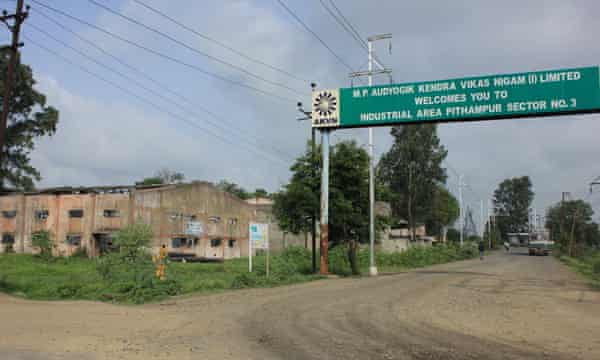 Pithampur's Sector III, where most small industries have shut up shop