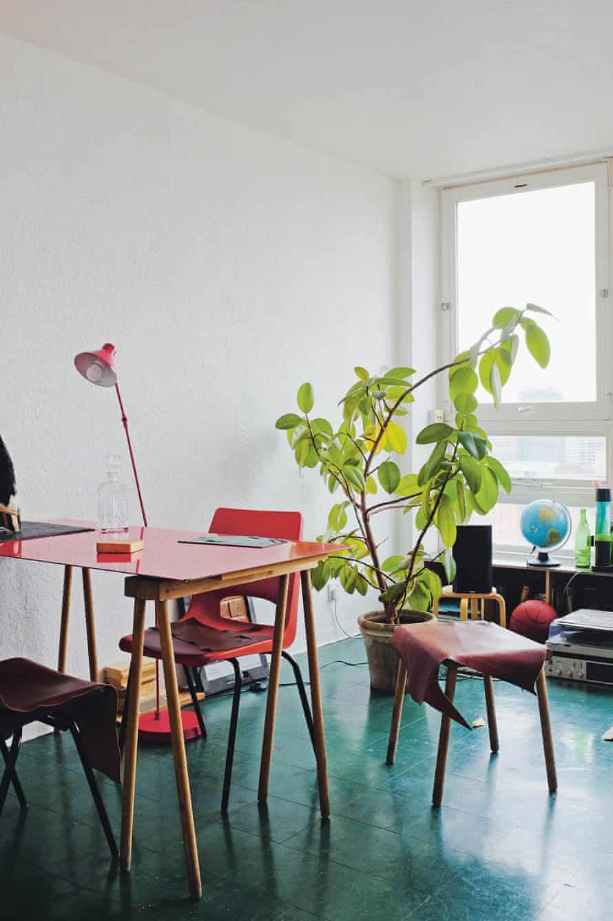 Interior detail of Maria Lisgorskaya's flat.