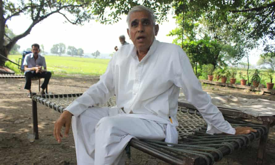 Babu Singh Patel and fellow Pithampur farmers have applied to the High Court to block the government's plans.