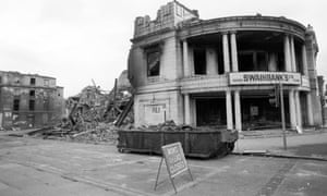 Aftermath of the riots: 'It is hard to argue that the staggering level of joblessness under Thatcher played no part.'