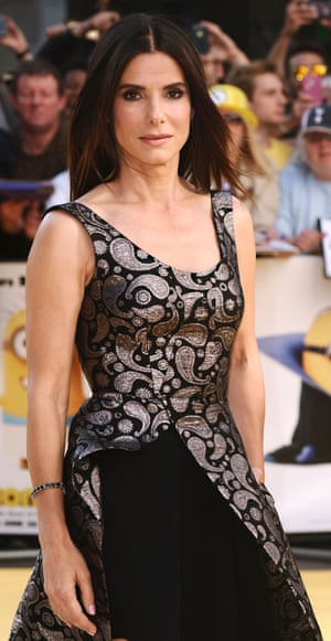 Sandra Bullock, often ranked as the most powerful actress in Hollywood, pictured in London at the premiere of Minions.