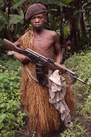 Nations using child soldiers are invited to British arms
