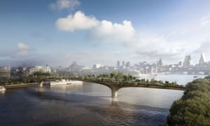There is concern the Garden Bridge will become more of a tourist attraction than a public walkway.