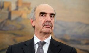 Vangelis Meimarakis, leader of the New Democracy party, has soared in the polls.