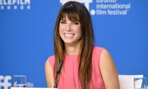 'We need to take start to take ownership back' ... Sandra Bullock at the press conference for Our Brand is Crisis at the Toronto film festival.