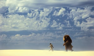 An island? A still from the Where The Wild Things Arefilm.