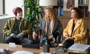 'It's a safe and curiously involving drama' ... Elle Fanning, Naomi Watts and Susan Sarandon in About Ray.