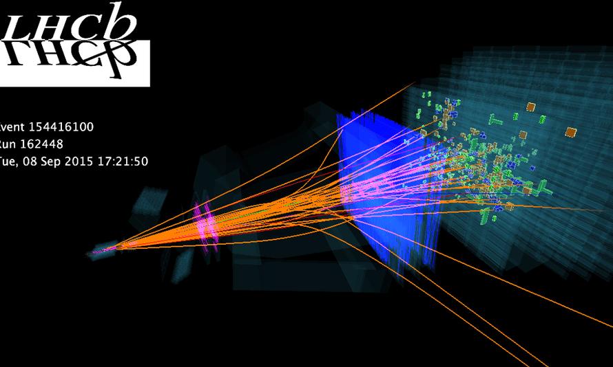 LHCb event display