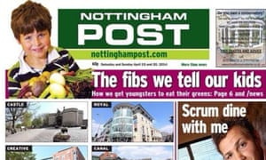 Nottingham Post: the Local World title could move to Trinity Mirror