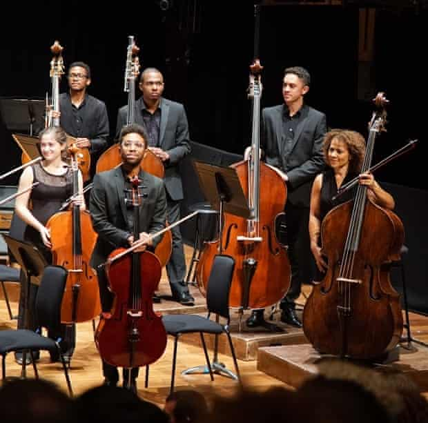 Chi-chi Nwanoku and Chineke! QEH, september 2015