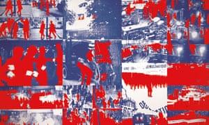 Gérard Fromanger's Album le Rouge, 1968-70