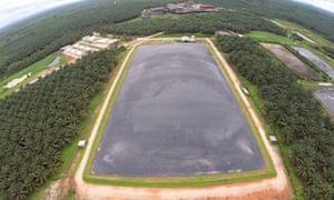 REA Kaltim's methane capture facilities, East Kalimantan, Indonesia