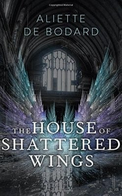 Jacket for The House of Shattered Wings.