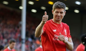 Steven Gerrard's final game at Anfield in May
