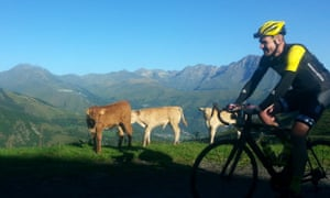 James Golding on Haute Route Pyrenees